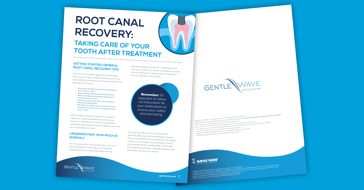 Root Canal Recovery Guide